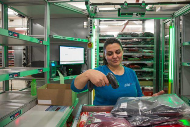 Im BLG-Lager kommt die Ware zur Frau statt andersherum: Eine der Bremer Erfolgsstorys zur Digitalisierung | BLG