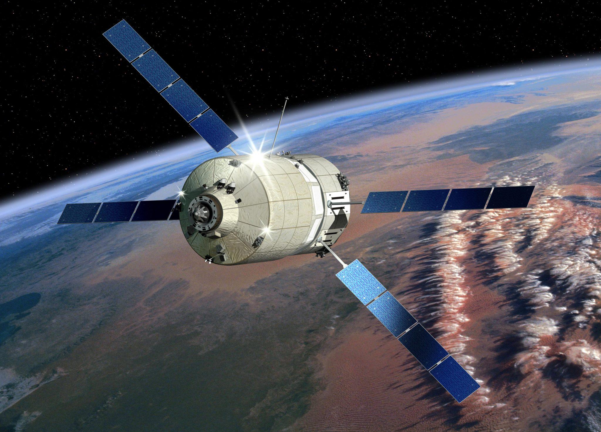 Der Raumfahrttransporter ATV im Einsatz. Quelle: EADS Astrium