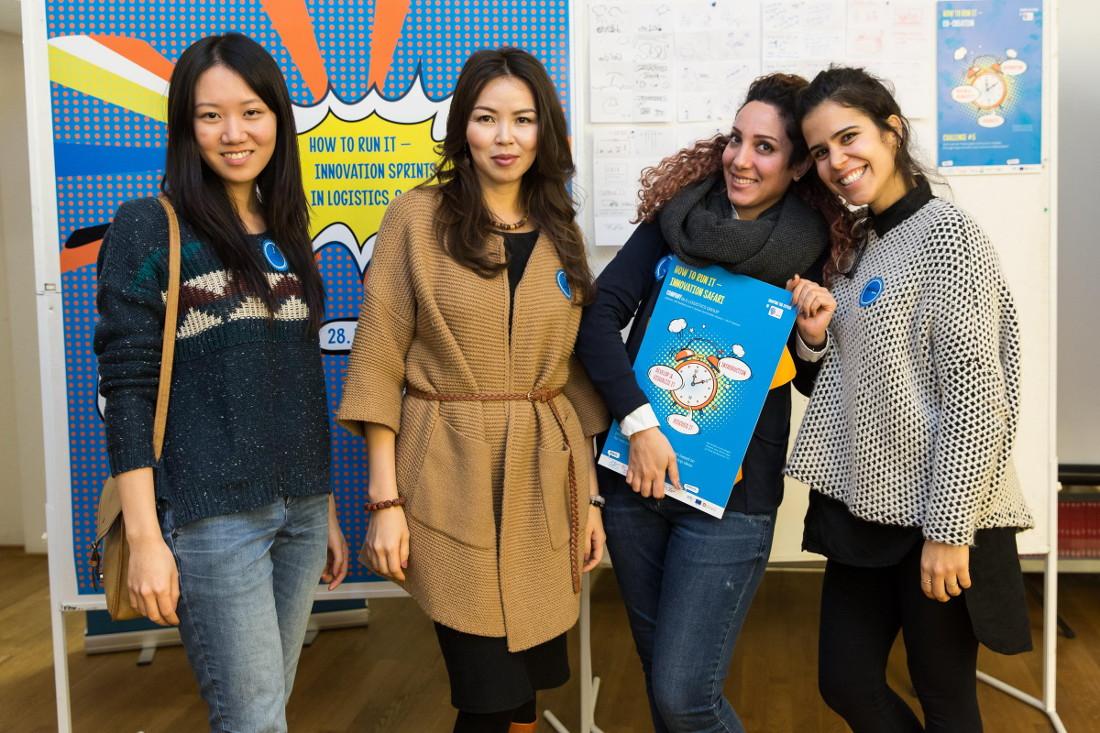 Zusammen mit Studierenden entwickeln Unternehmen neue Ideen, Bild: Alexander Fanslau