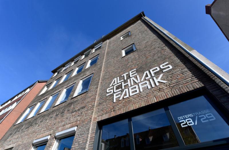 In der Alten Schnapsfabrik sitzen Mittelstands 4.0-Zentrum und Digilab, Bild: WFB/Frank Pusch