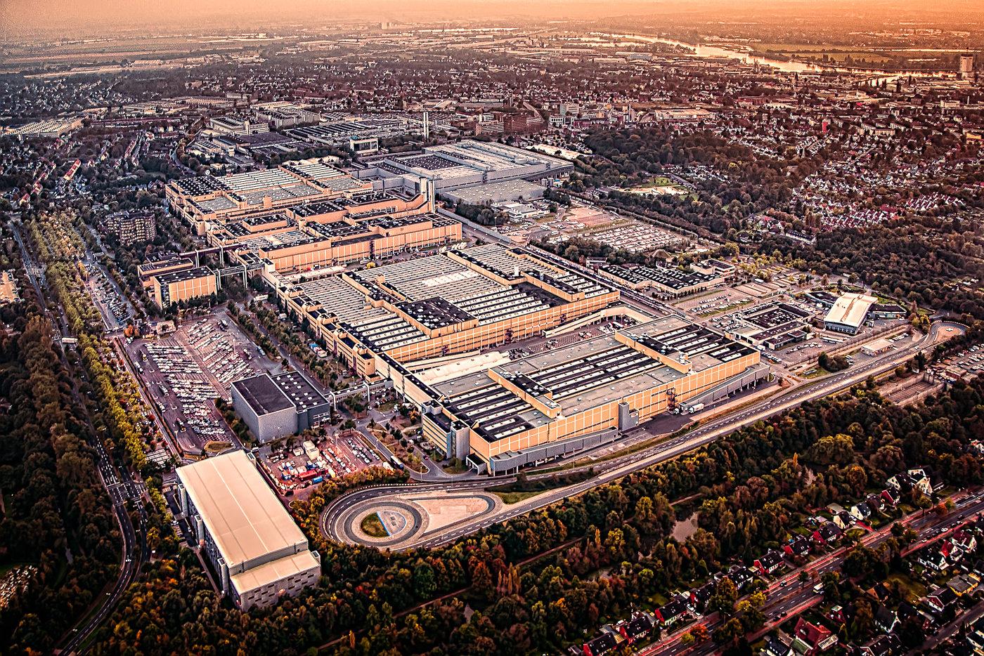 Das Mercedes-Benz Werk in Bremen Sebaldsbrück, Bild: Daimler AG