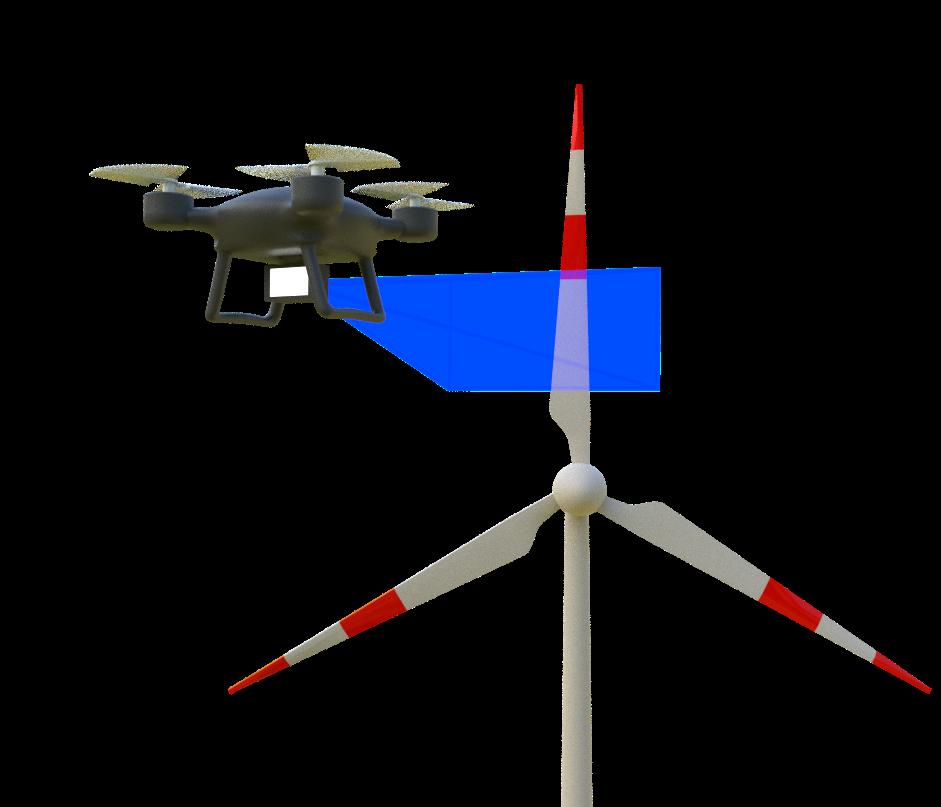 Als autonomes System soll die Drohne eines Tages arbeiten. Bild: BIBA