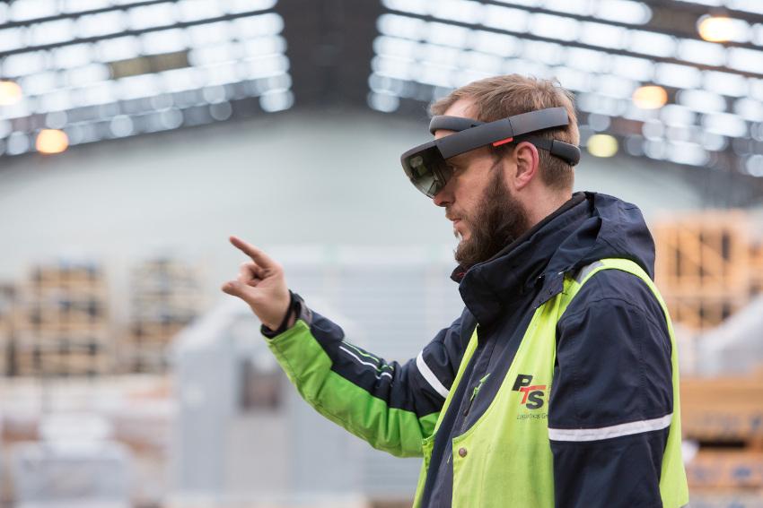 AR ist in der Industrie angekommen, Bild: PTS/ProLog Innovation