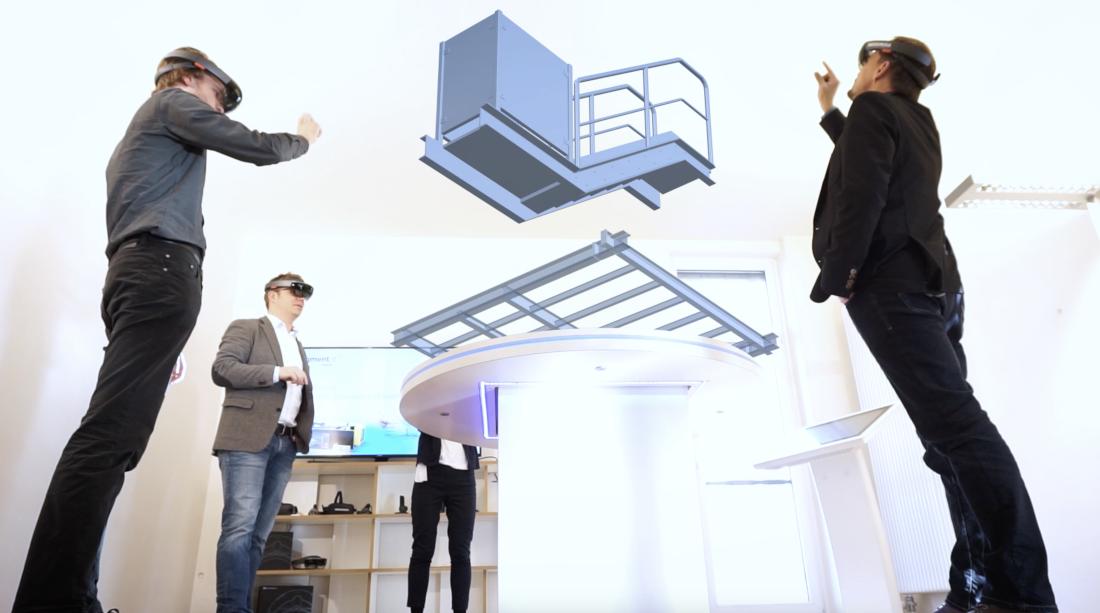 Im Labspace können verschiedene Technologien ausprobiert werden, Bild: RADIUSMEDIA