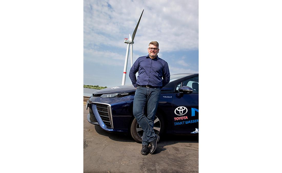 Claas Schott, Vorsitzender der Initiative H2BX, Bild: H2BX