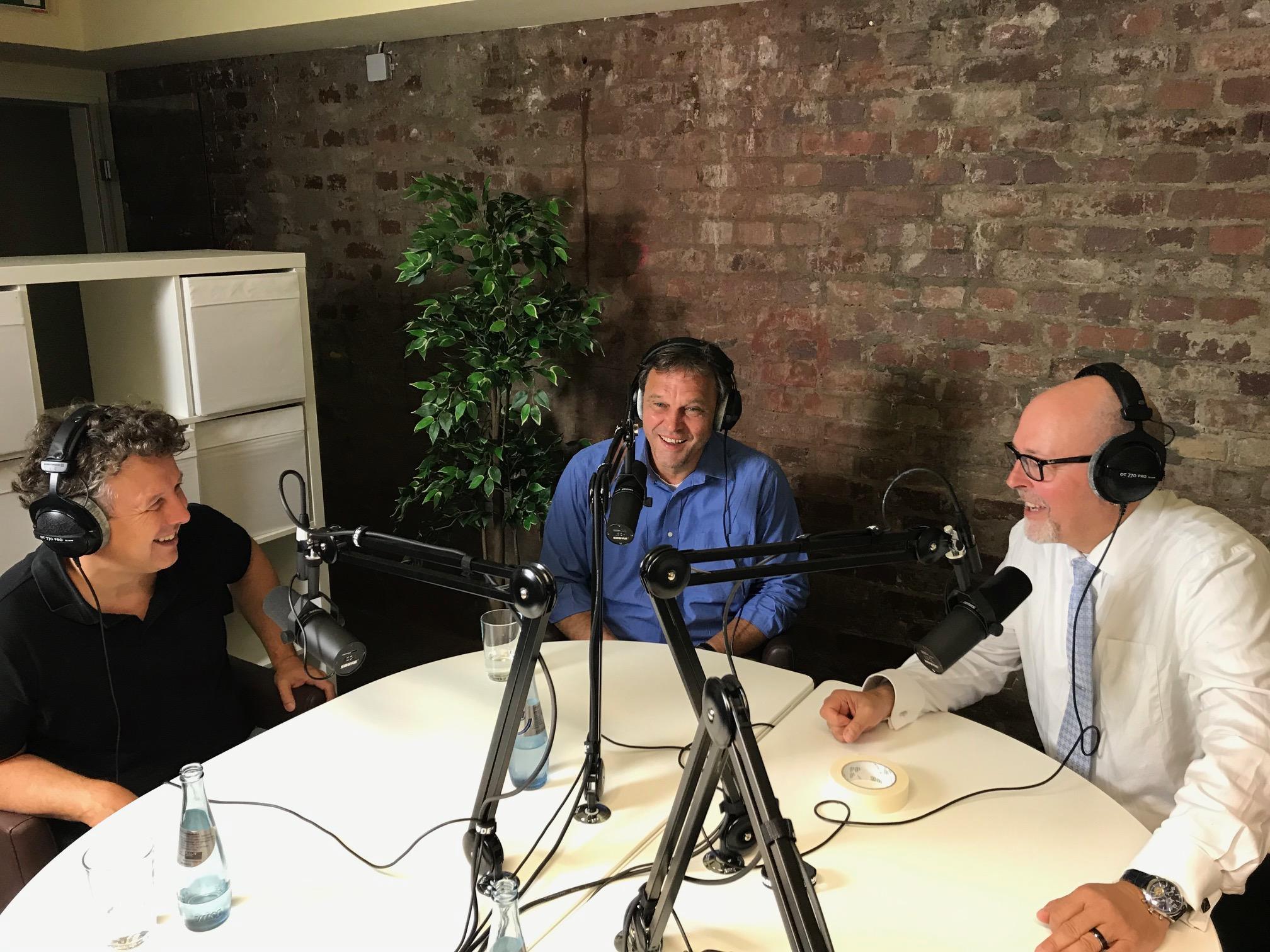 Prof. Drechsler, Prof. Kirchner und Kai Stührenberg im Gespräch