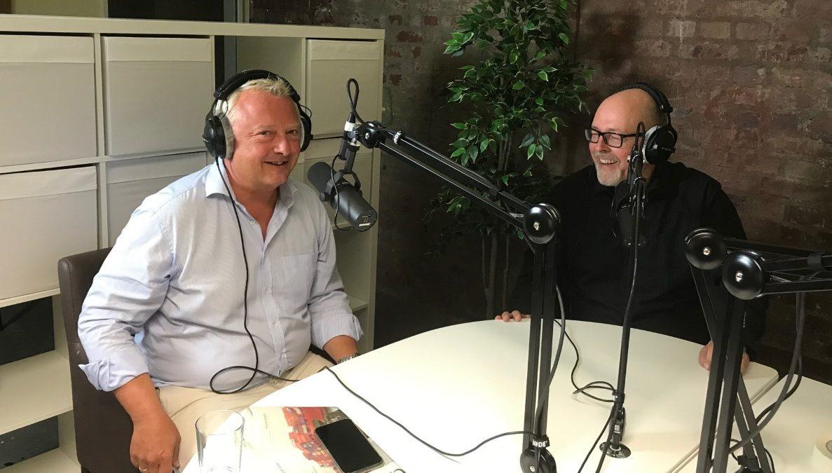 Ralf Sandstedt und Kai Stührenberg beim Podcast Bremen innovativ