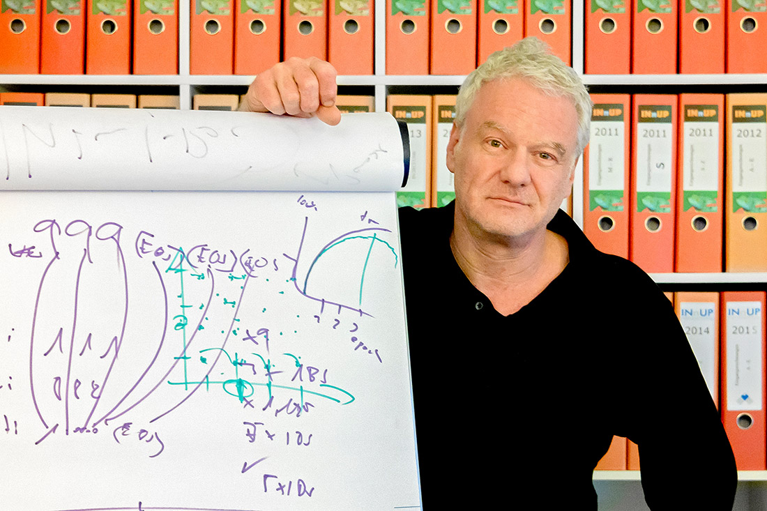 Autodidakt und KI-Fan - Phillip Bock, Geschäftsführer von INnUp