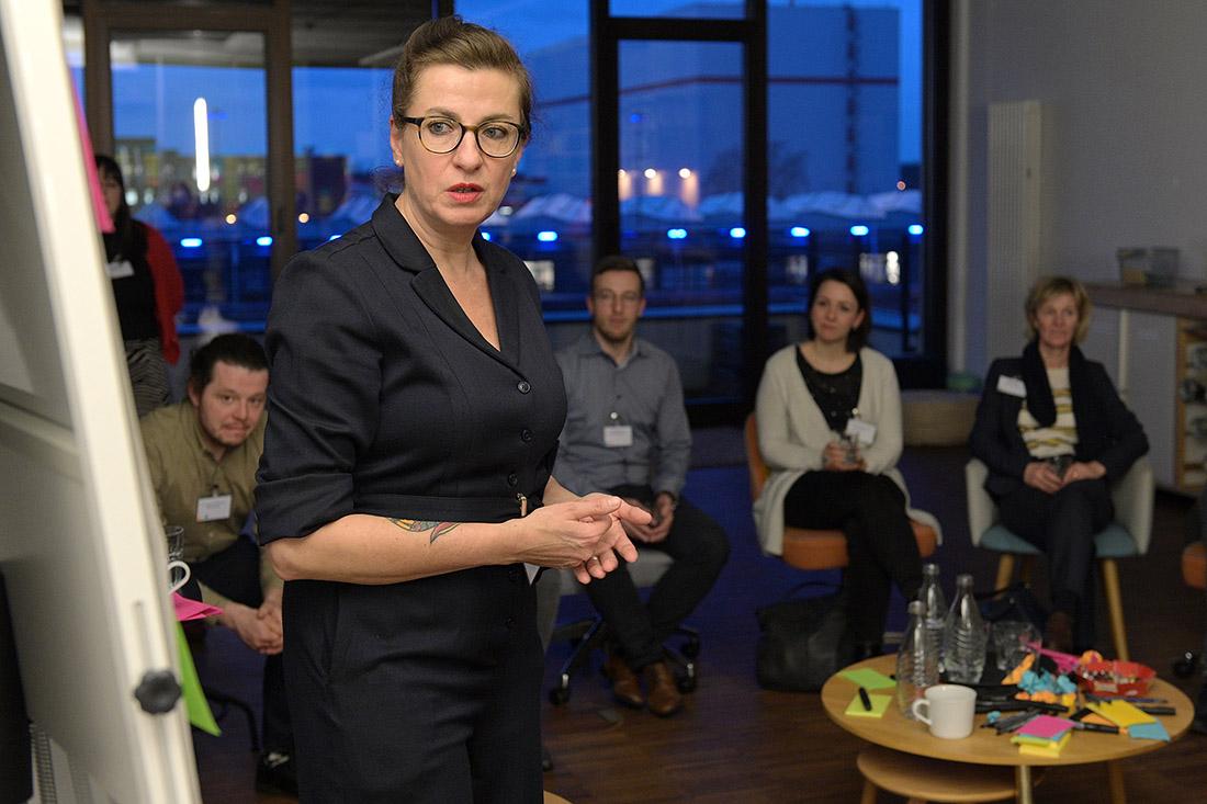 Andrea Kuhfuß, Beraterin bei der Bremer Kurswechsel GmbH, Bild: WFB/Bahlo