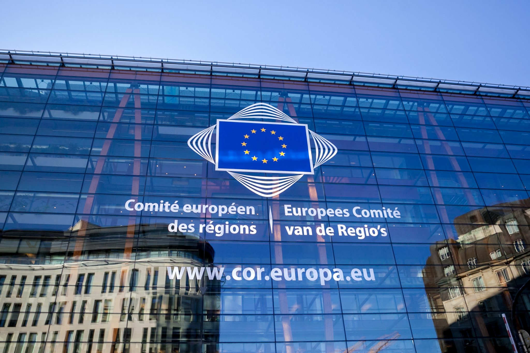 Logo vom Europäischen Ausschuss der Regionen