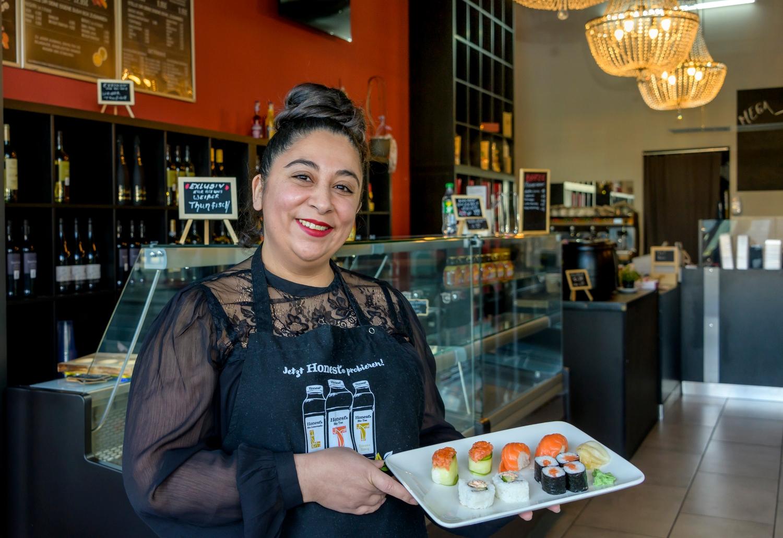 Leyla Sensoy, Soho Sushi Bar im City Gate. Quelle: WFB/Frank Pusch