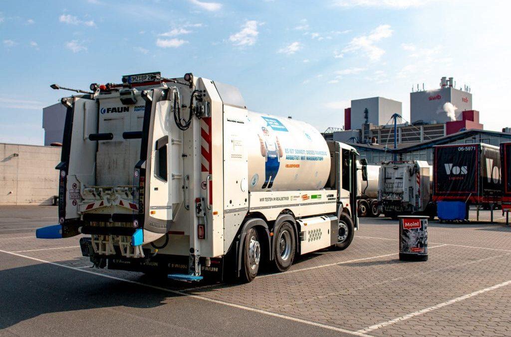 Das neue Fahrzeug vom Hersteller FAUN in Bremen