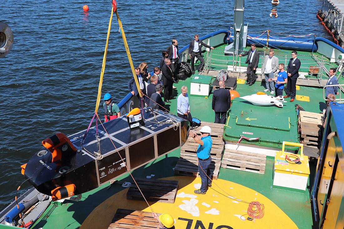 Test des Demonstrators, Bild: thyssenkrupp Marine Systems