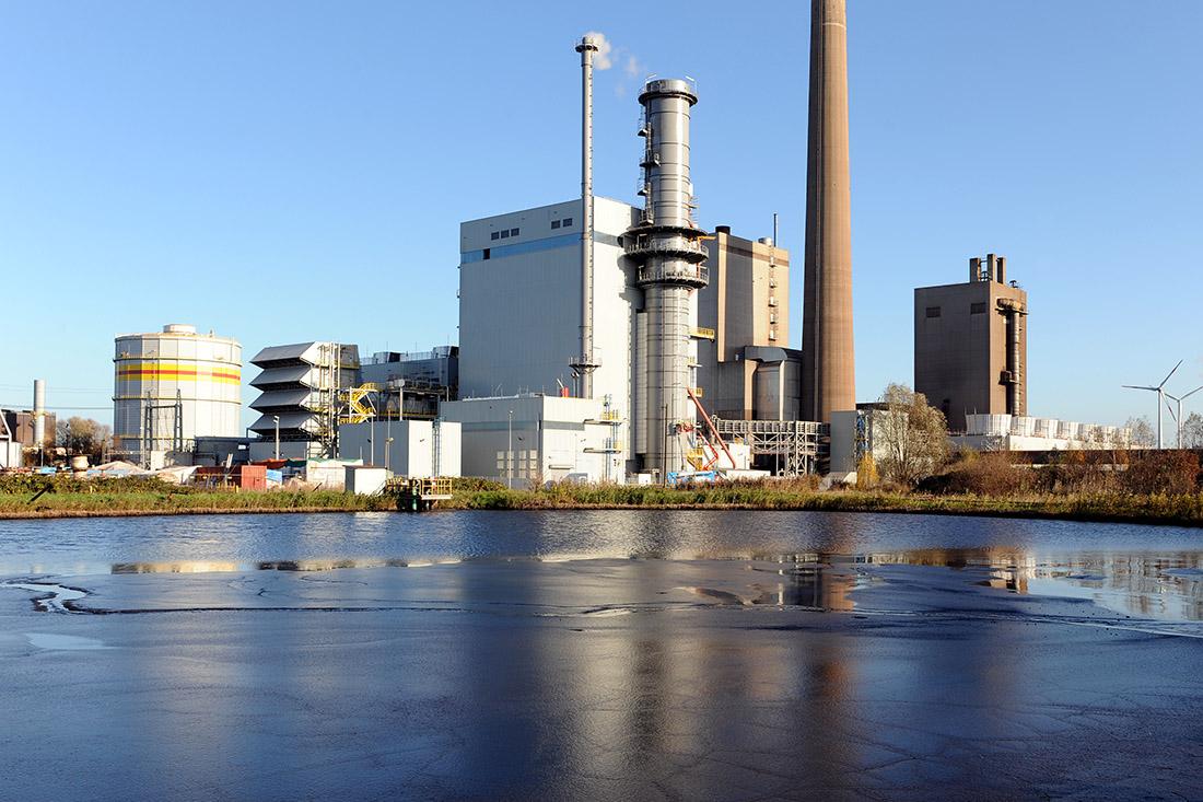 swb-Kraftwerksstandort Mittelsbüren