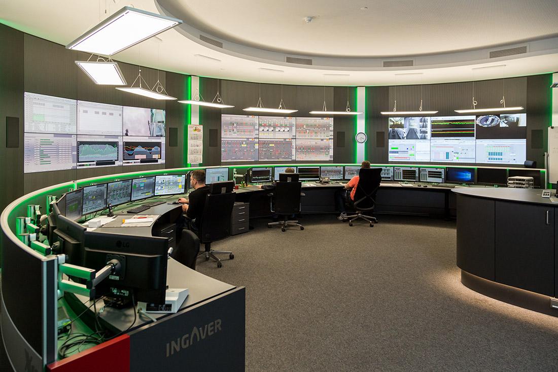 Die neue Leitwarte in Mittelsbüren wurde schon für zukünftige Aufgaben, wie die Integration von Wasserstoff in den Produktionsprozess, ausgelegt, Bild: swb AG