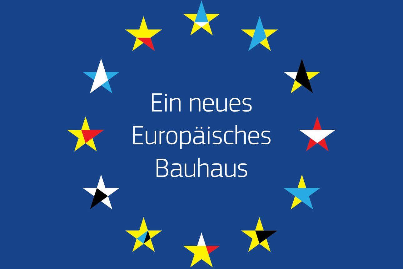 """Logo """"Ein neues europäisches Bauhaus"""""""