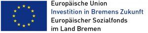 Logo des Europäischen Sozialfonds im Land Bremen