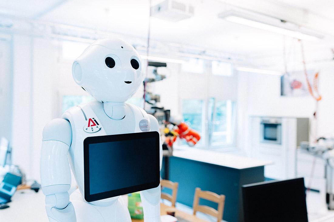 Robotische KI - ein Aushängeschild in Bremen, Bild: SWAE/Ginter